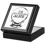 Betting On Alice Keepsake Box