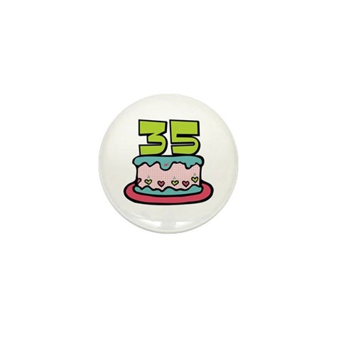 Surprising your birthday friends with our cute cartoon 35 birthday cake t-shirts and apparels. Our cute cartoon 35 birthday cake goodies and keepsakes make