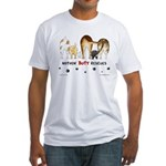 Dog Breed Rescues Fitted T-Shirt