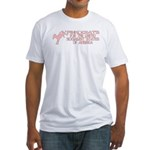 Pinkocrats Anti-Liberal Fitted T-Shirt
