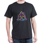 Butterfly Triquetra - Black T-shirt