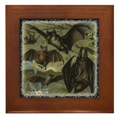 Bat Idyll - Just Vampires.com Framed Tile