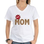 New Mom Mother First Time Women's V-Neck T-Shirt