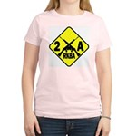 Second Amendment Zone Women's Pink T-Shirt