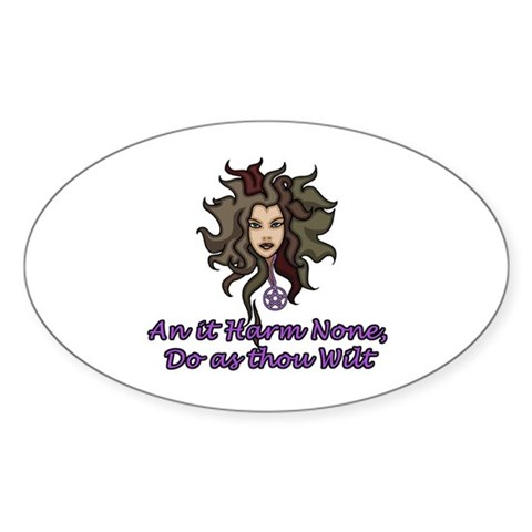 Pagan Rede Decal by heartwants- 222787503