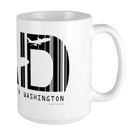 Washington Dulles IAD Air Wear Large Mug
