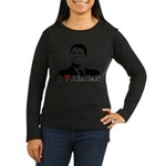 I Heart Reagan Women's Long Sleeve Dark T-Shirt