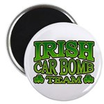 "Irish Car Bomb Team Shamrock 2.25"" Magnet (100 pac"