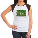 Irish Car Bomb Team Shamrock Women's Cap Sleeve T-