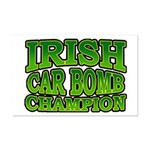 Irish Car Bomb Champion Shamrock Mini Poster Print