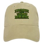 Irish You Were Beer Shamrock Cap