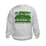 St. Patrick University Drinking Team Kids Sweatshi