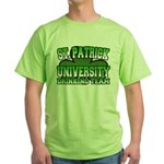 St. Patrick University Drinking Team Green T-Shirt