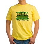 Team Drunk Yellow T-Shirt
