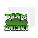 Team Leprechaun Greeting Cards (Pk of 10)