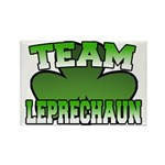 Team Leprechaun Rectangle Magnet (10 pack)