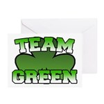 Team Green Greeting Cards (Pk of 10)