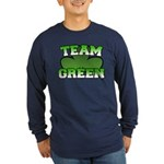Team Green Long Sleeve Dark T-Shirt