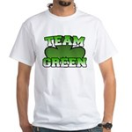 Team Green White T-Shirt