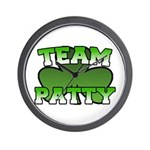 Team Patty Wall Clock