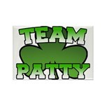 Team Patty Rectangle Magnet