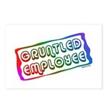 Gruntled/Happy Employee Postcards (Package of 8)