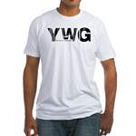 Winnipeg Canada YWG Air Wear Fitted T-Shirt