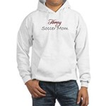 Horny Soccer Mom Hooded Sweatshirt