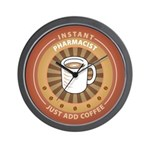 Instant Pharmacist Wall Clock