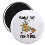 Nurses Are Bee-utiful Magnet