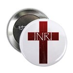 "INRI Cross 2.25"" Button"