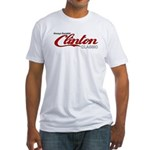 Clinton Socialist Fitted T-Shirt