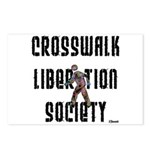 Crosswalk Liberation Society Postcards (Package of