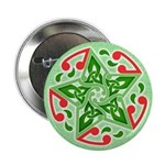 "Celtic Christmas Star 2.25"" Button (10 pack)"