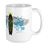 """Surf Angel: Tribe"" Large Mug"