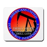 Energy Independence Mousepad