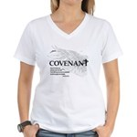 """Envy Not the Lawless"" Women's V-Neck T-Shirt"