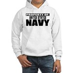 Property of US Navy Hooded Sweatshirt