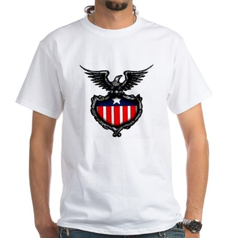 Patriotic American Eagle Tattoo (Front) Shirt