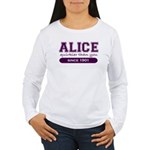 Alice, Quirkier Than You. Women's Long Sleeve T-Sh