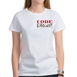 Code Brown! Women's T-Shirt