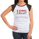 Code Brown! Women's Cap Sleeve T-Shirt