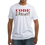 Code Brown! Fitted T-Shirt