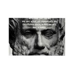 Greek Philosophy: Aristotle Rectangle Magnet