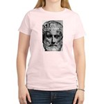 Greek Philosophy: Aristotle Women's Pink T-Shirt