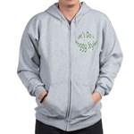 Do It Froggy Style Zip Hoodie