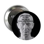 "Great Roman: Julius Caesar 2.25"" Button (10 pack)"
