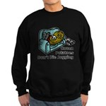 Couch Potato Jogging Sweatshirt (dark)