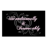 Irrevocably In Love Twilight Rectangle Sticker 50