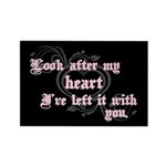Edward Heart Twilight Rectangle Magnet (100 pack)